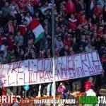 Striscione tifosi Perugia