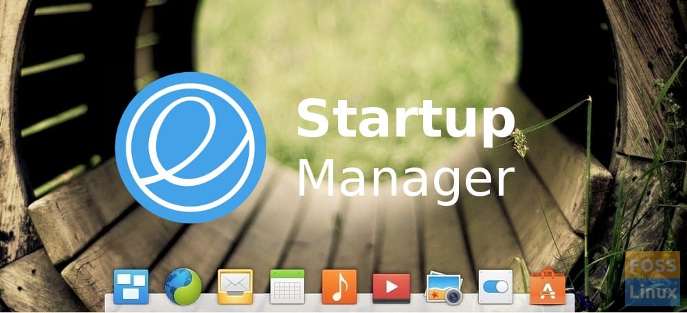 elementary OS startup manager