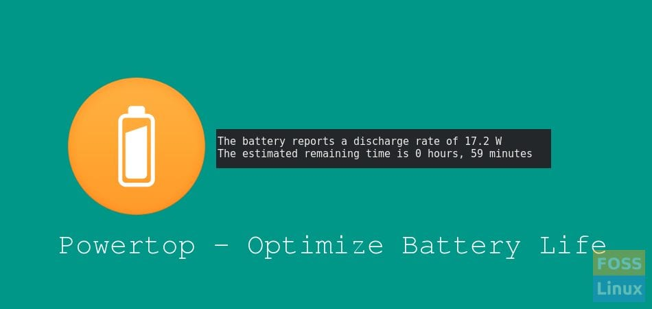 Powertop Battery Optimizer