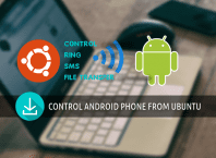 control android phone from ubuntu