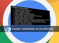 enable hardware acceleration in chrome