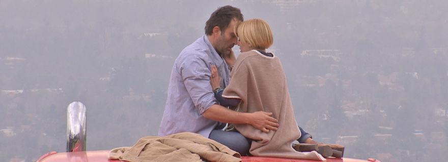 """La romántica escena que protagonizarán Ema y Antonio en """"El Camionero"""""""