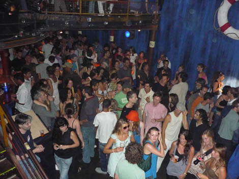 party at Cargo Club
