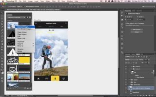Adobe Stock licenciando imagen desde Photoshop