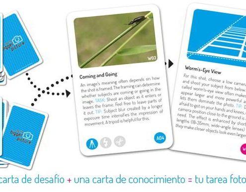 Proyecto Photography Cards en español