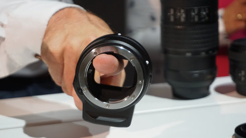Adapter do oobiektywów Nikona/fot. fotoManiaK.pl