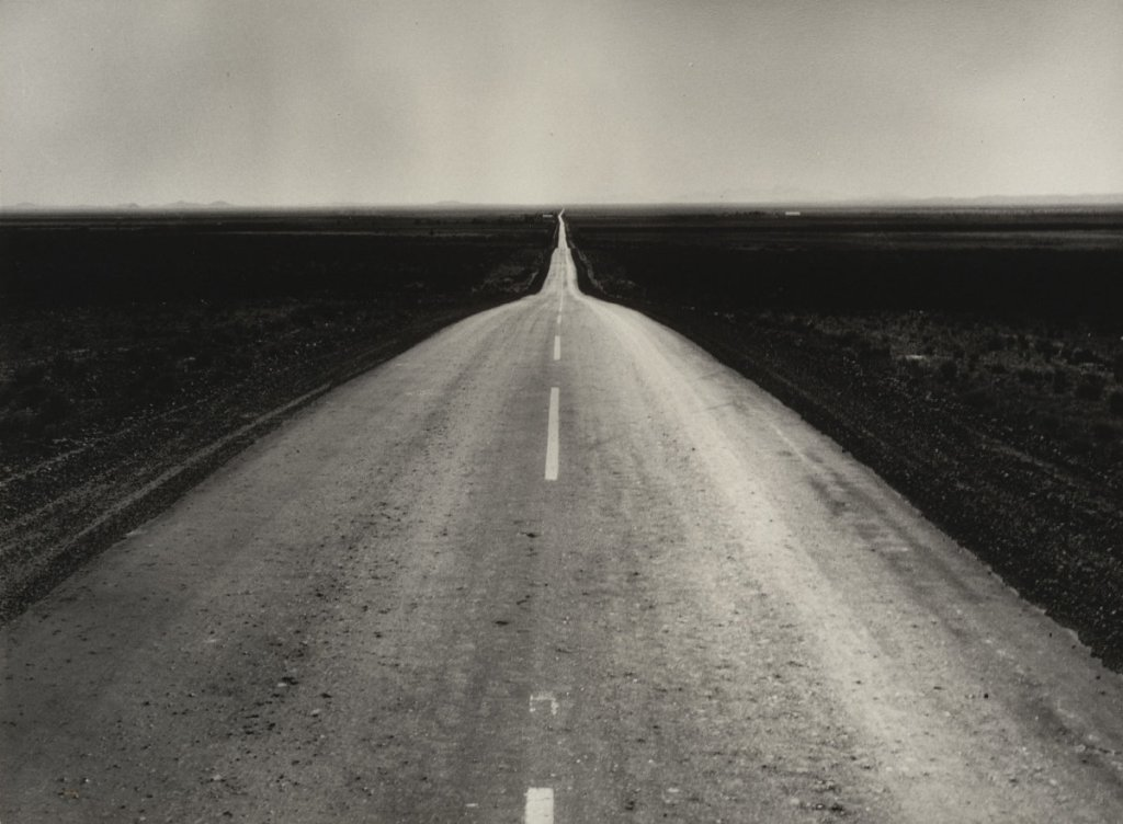 Dorothea Lange, The Road West, New Mexico, 1938.
