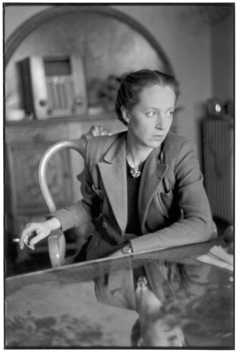 FRANCE. French Communist deputy Mara LUCAS (Marie-Claude VOGEL-VAILLANT-COUTURIER). 1945.
