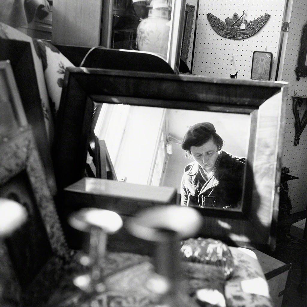 Vivian Maier, Self portrait, Chicago area, 1971.