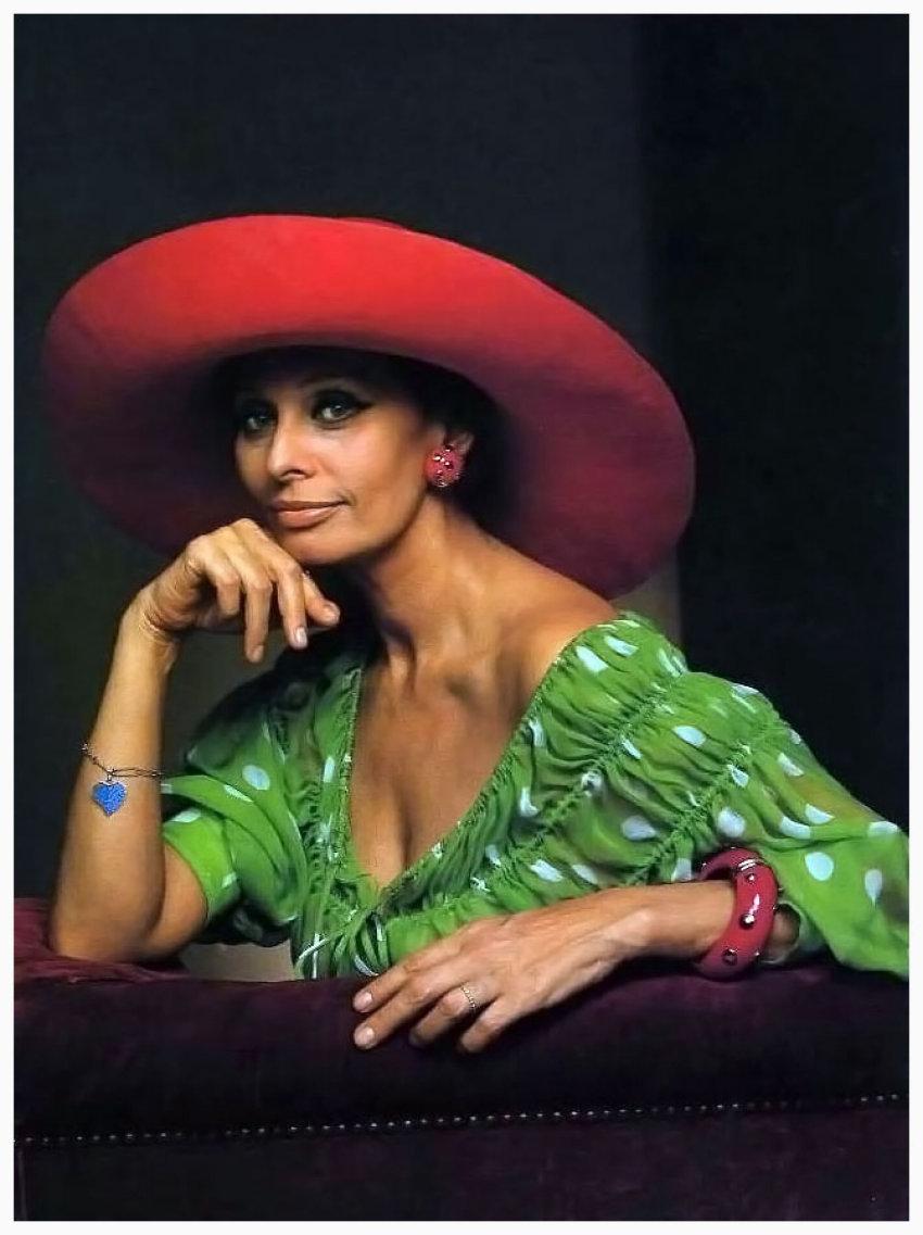 Yousuf Karsh, Sophia Loren 1981