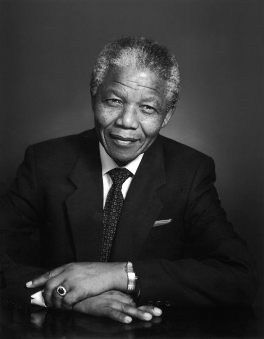Yousuf_Karsh, Nelson_Mandela 1990.