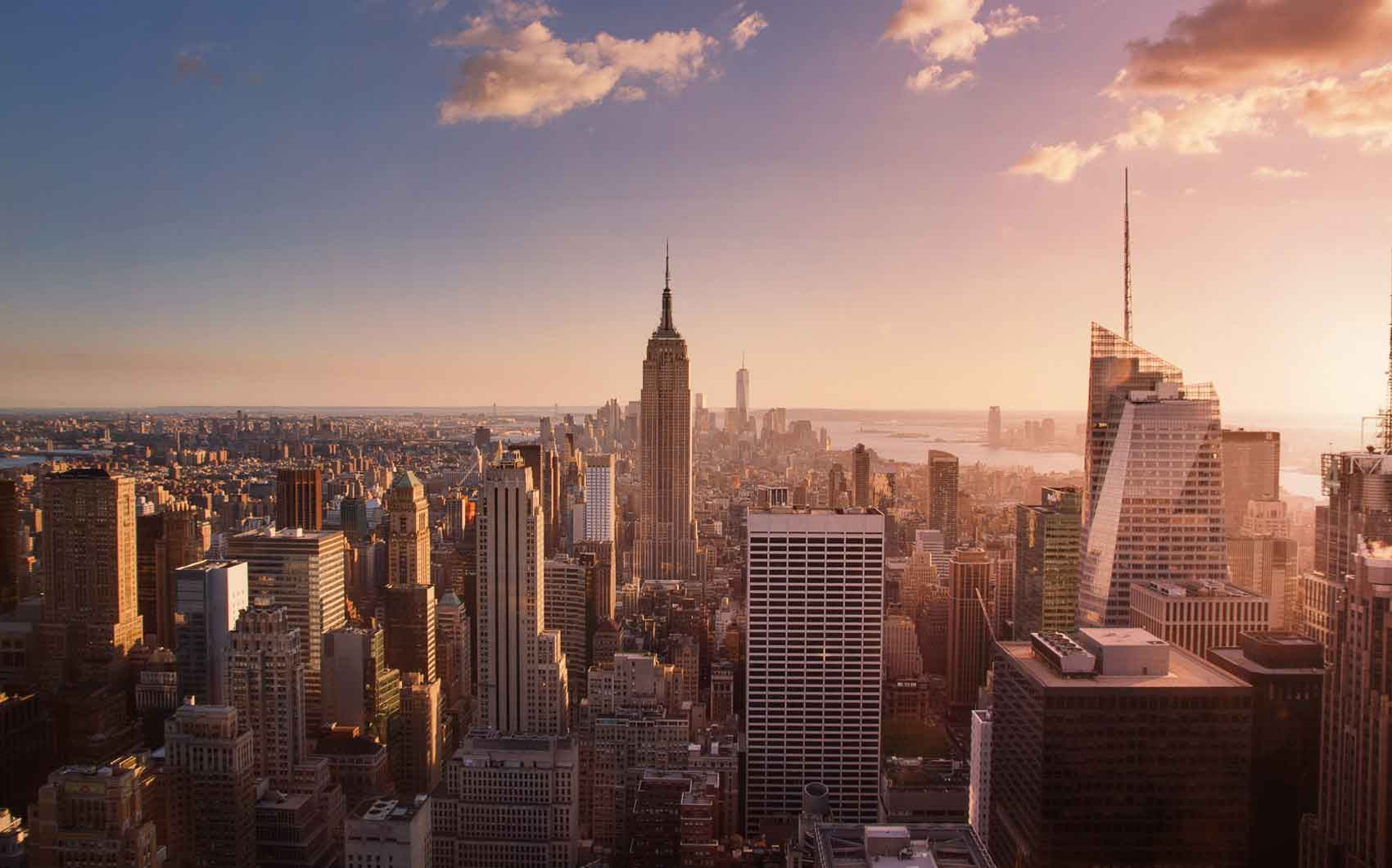 new york-sunset