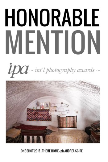Honorable Mention - Andrea Scirè - IPA One Shot 2015 - Theme Home