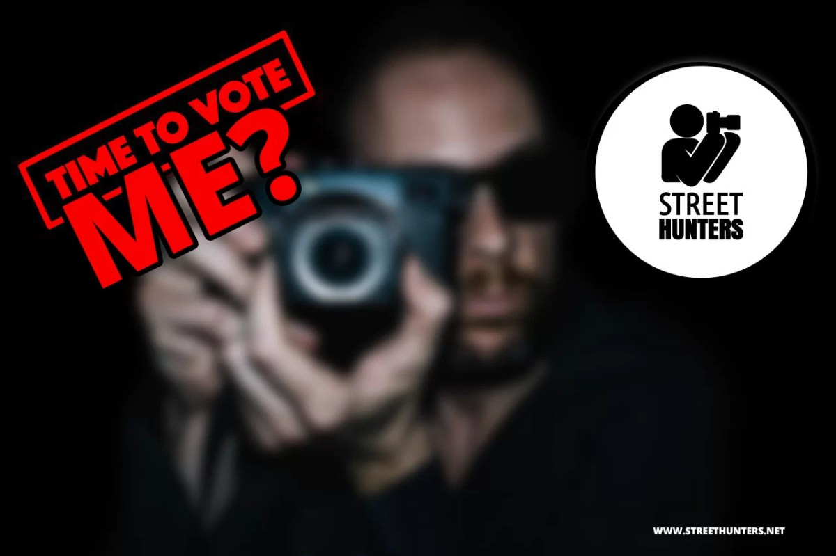 TIME TO VOTE... ME? - VOTE FOR THE 20 MOST INFLUENTIAL STREET PHOTOGRAPHERS OF 2016
