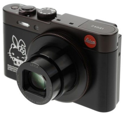 Leica C Hello Kitty X Playboy edition camera 420x390 Nueva Leica C edición aniversario Hello Kitty y Playboy