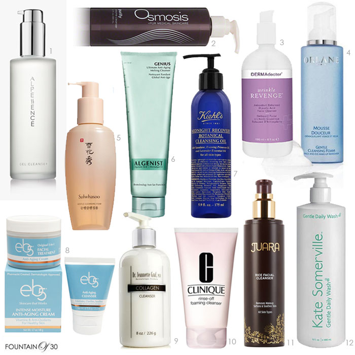 best-facial-cleansers-anti-aging-12-best