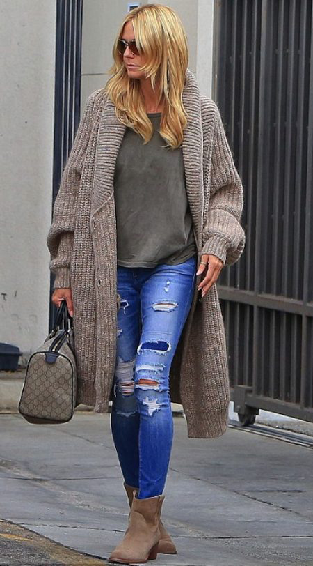 Celebrity Style Steal: Heidi Klum Makes Us Want This Sweater!