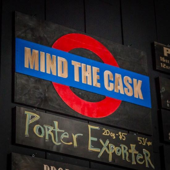 Mind The Cask