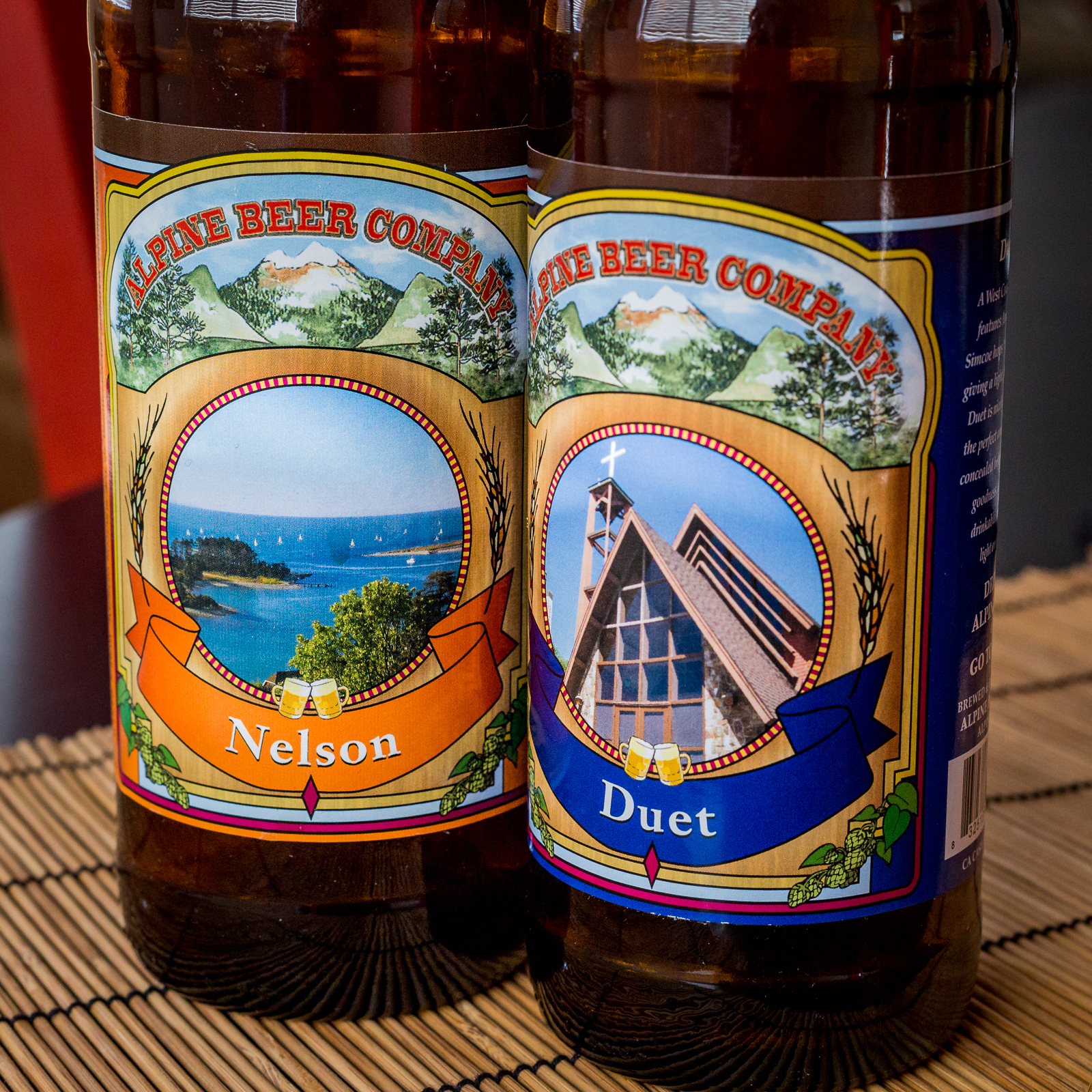 Alpine Beer Company - Nelson and Duet
