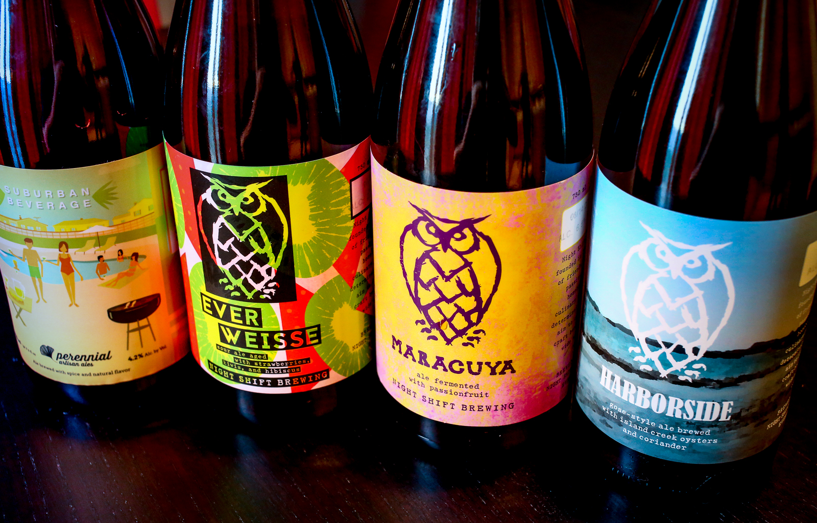 Excellent Brews from Perennial and Night Shift.