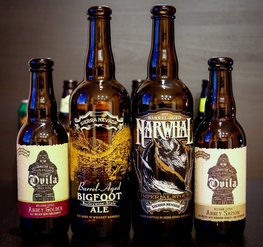 Sierra Nevada Brewing Co. Collaboration and Barrel-Aged Beers