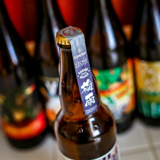 Garage Project/Kyodo Shoji COEDO Brewery/Stone Brewing Collaboration