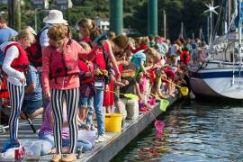 fowey regatta crabbing competition