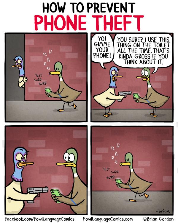 phone theft