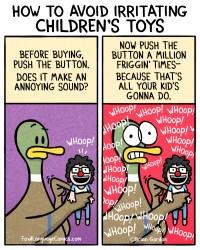 irritating children's toys
