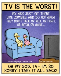 tv is the worst