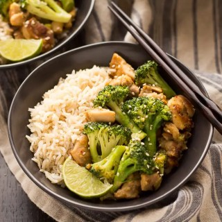 Peanut Sauce Chicken and Broccoli Bowls (5 of 7)