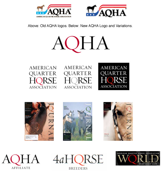 AQHA Logos