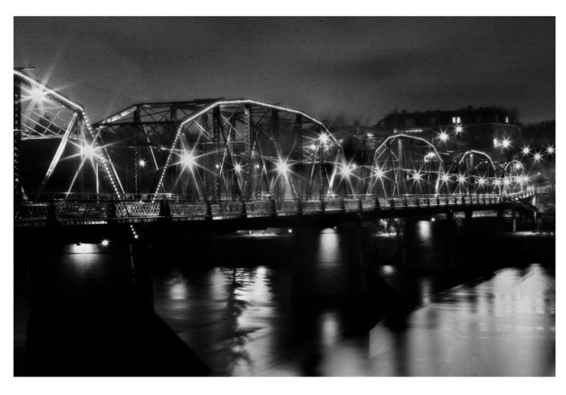 Victoria Bridge, Saskatoon, Fall 2010