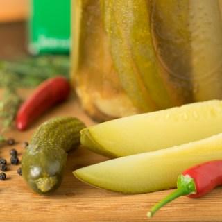 Spicy Cider Dill Pickles recipe