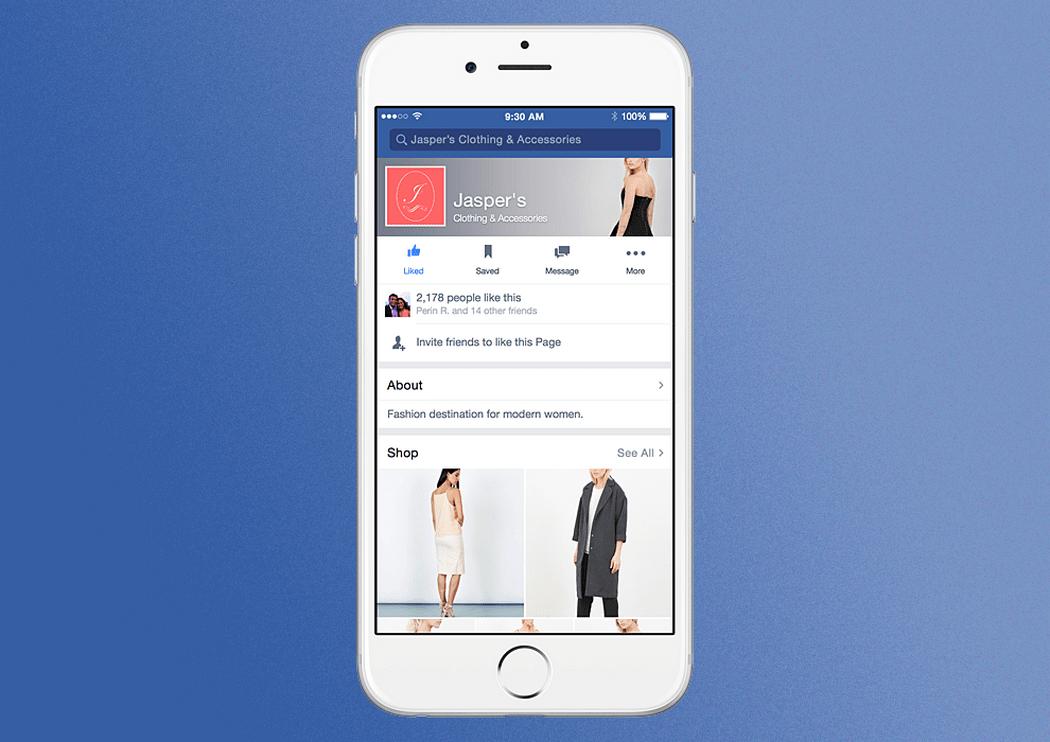 Facebook tente de nouveau de conquérir le ecommerce