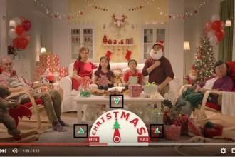 Noël devient interactif avec Ikea