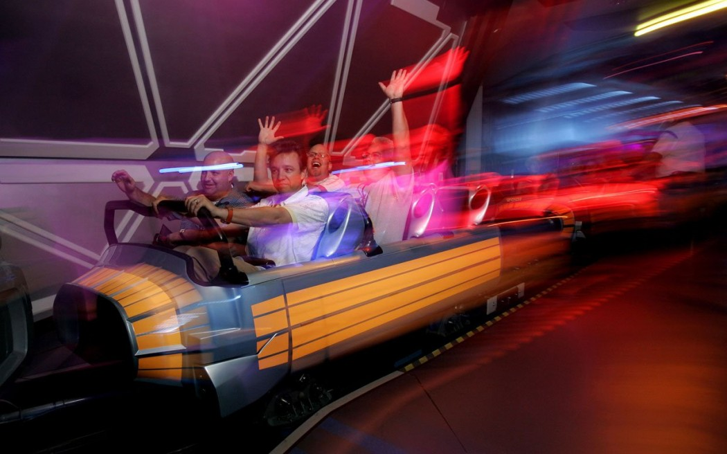 Sortez-moi de Space Mountain !