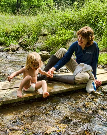 Toes in the cold water: tactile memories in the making