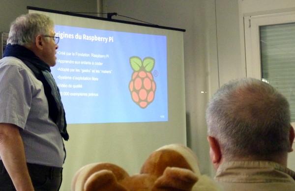 Début de la conférence de Bédoin - 10 h du matin - Les origines du Raspberry Pi