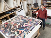 Richard-Adamson-quilt-production-framemakers-workshop-framemakers