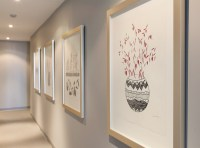 Framemakers-International-condo-hallway-silver-frame