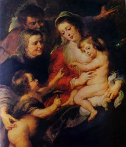 Rubens: La Sacra Famiglia