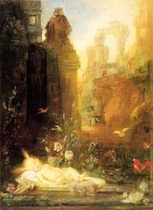 Moreau: Mosè bambino, 1878