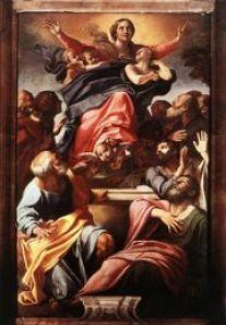 L'Assunta di Annibale Carracci a S.Maria del Popolo a Roma