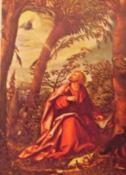 S. Giovanni Evangelista: Hans Burgkmair 1518, Alta Pinacoteca di Monaco Germania
