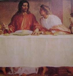 L'ultima cena (particolare) 1511-27: Andrea del Sarto, Cenacolo S. Salvi Firenze