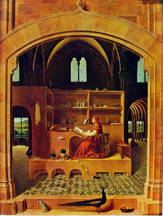Antonello da Messina: San Gerolamo nello studio