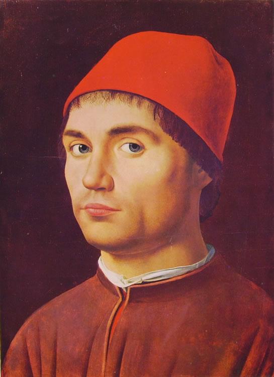 Antonello da Messina: Ritratto d'uomo (di Londra).