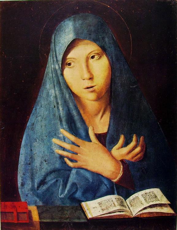 Antonello da Messina: Vergine annunziata