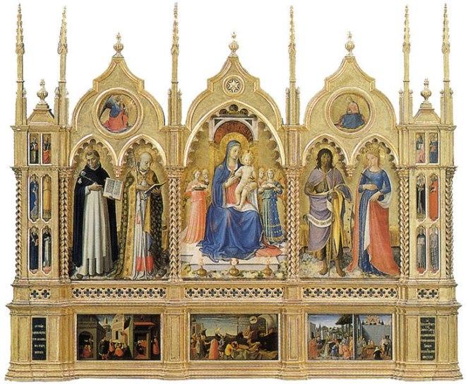 Beato Angelico: Trittico di Perugia
